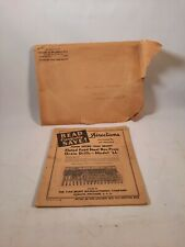 Vintage John Deere Van Brunt Model Ll Grain Drill Directions Manual