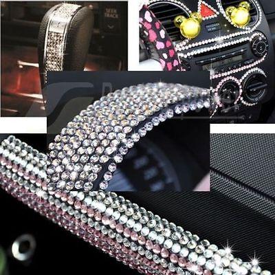 918Pcs DIY Car Styling Crystal Rhinestone Sticker Decor Phone Decal Accessories
