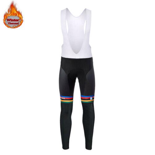 ASTANA 2019 Winter Thermal fleece long sleeve set bicicleta maillot ciclismo kit