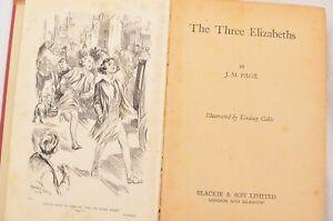 The Three Elizabeths by J.M. Page - Hardback Edition