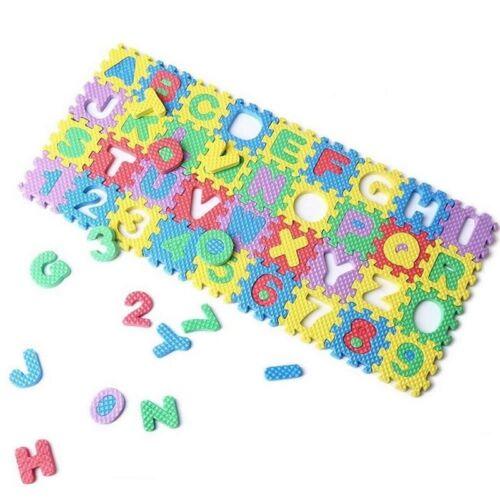 2X 36Pcs Colorful Mini Size Puzzle Kid Educational Toy Alphabet A-Z Letters Nu W