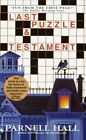 Last Puzzle & Testament by Parnell Hall (Paperback, 2001)