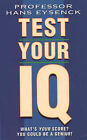 Test Your IQ by H. J. Eysenck (Paperback, 1994)