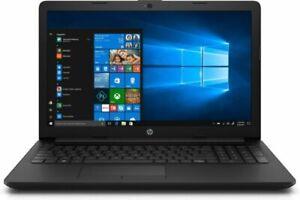 "HP Notebook 15-da0072na 15.6"" (4GB, Intel Celeron N4000, 1TB HDD) Laptop - Jet Black, (8UJ70EA#ABU)"