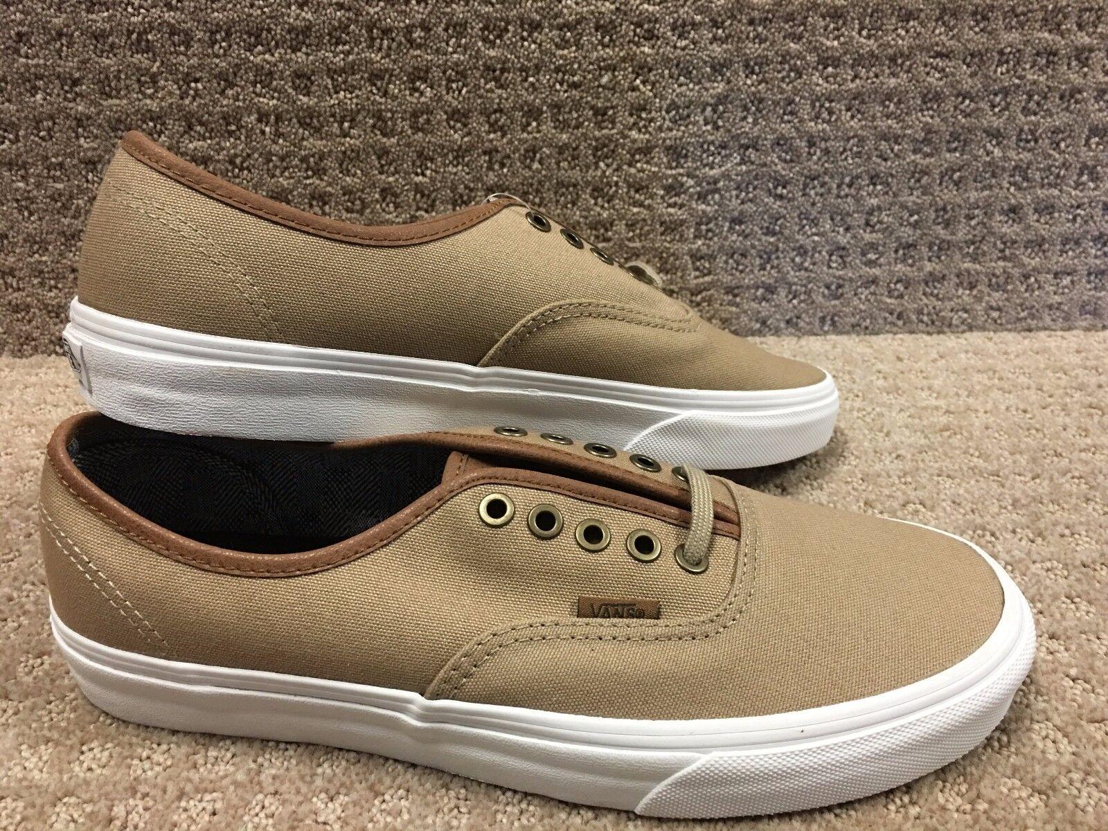 Vans Men's shoes  Authentic  -- (C&L)  Silver Mink True Wh