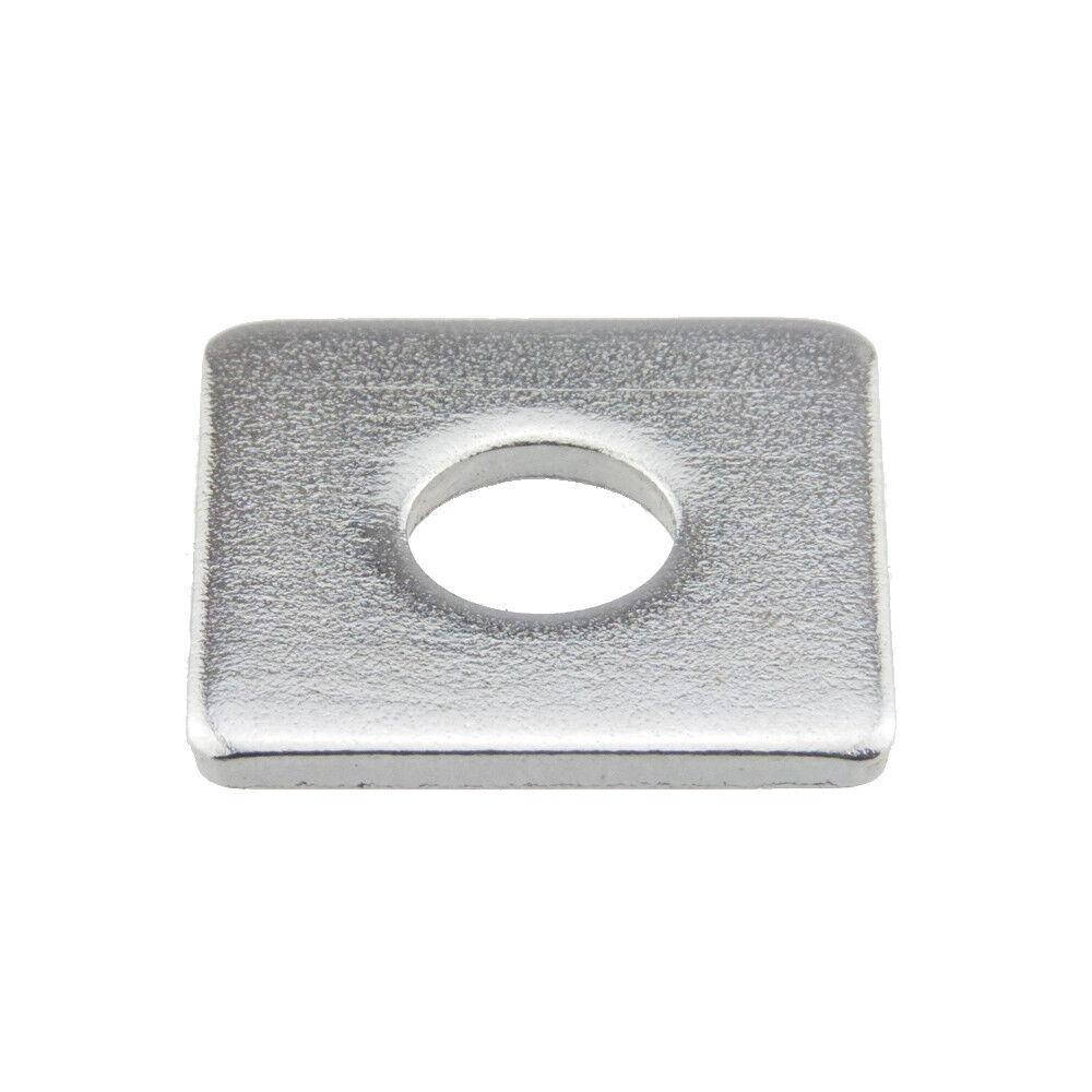 Scheiben DIN 436 Edelstahl A2 vierkant