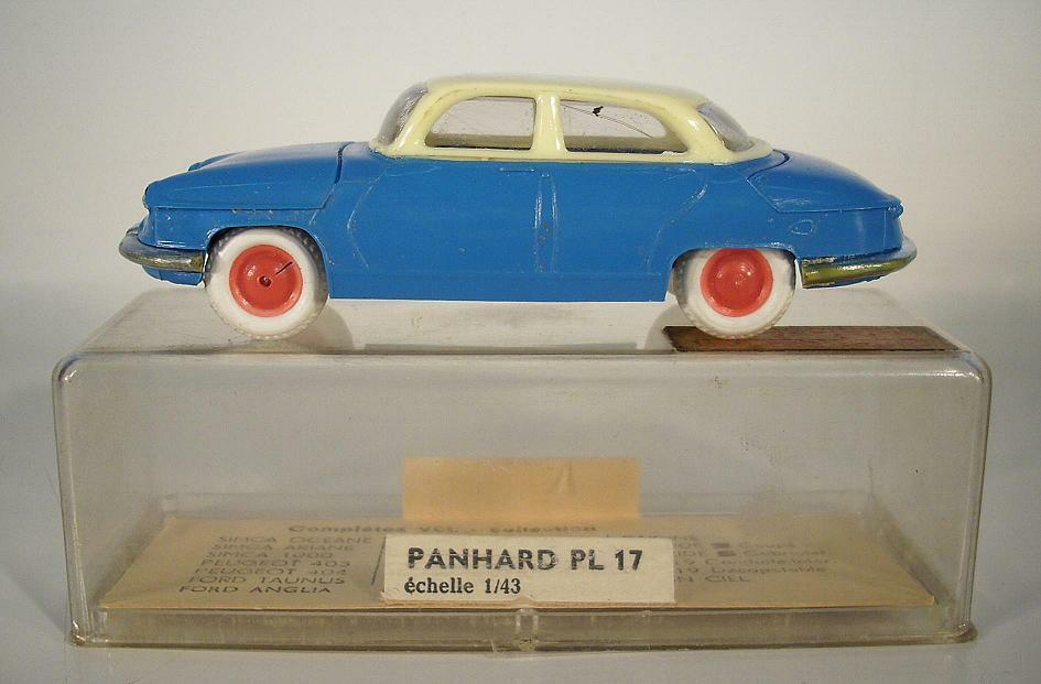 Minialuxe France 1 43 Panhard PL 17 blue in Box
