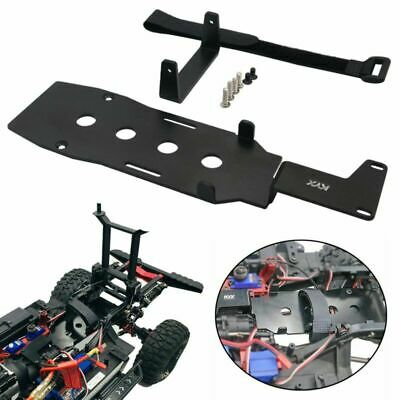 RC Car Battery Metal Plate Tray Compatible with Traxxas trx-4 TRX-6 1//10 RC Car RC Battery Mounting Plate