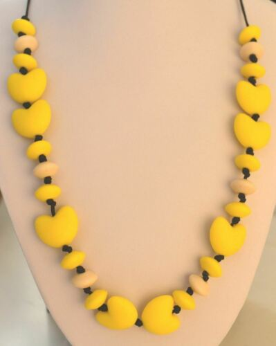 GEORGIA Teething Necklace Autism Sensory Chewing Baby Shower