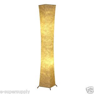 standleuchte stehlampe stoff schlafzimmer wohnzimmer h he 132cm einfach insta ebay. Black Bedroom Furniture Sets. Home Design Ideas