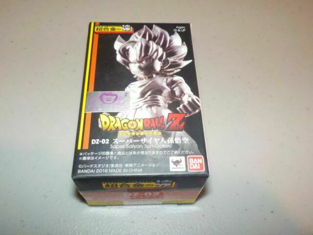 Bandai absolue Chogokin Dragon Ball Z Super Saiyan Son Goku en stock USA