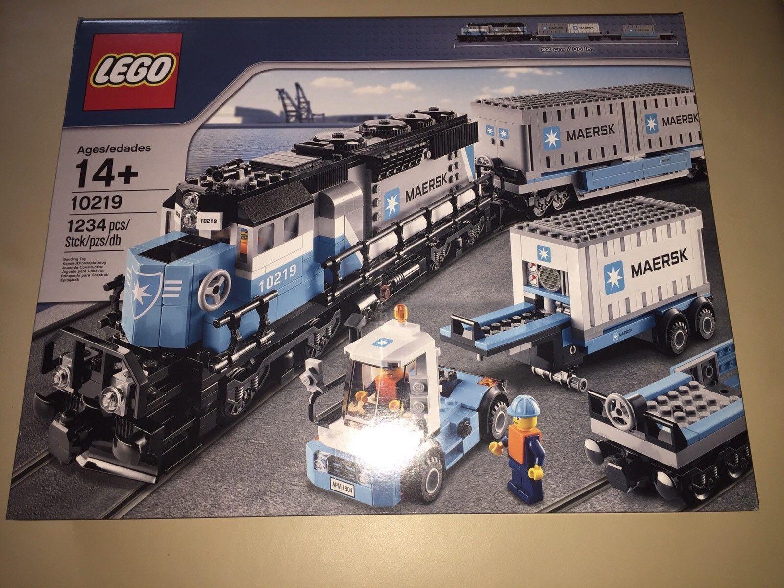 LEGO 10219 in esclusiva Maersk  treno NUOVO OVP SEALED non aperto stato da collezione  consegna rapida