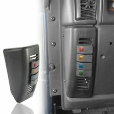 Tidewater Black Gauge Switch Panel W// Lighted Toggle Switches  912-20