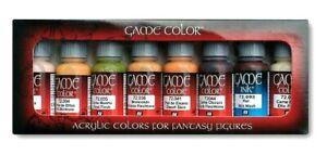 Av-Vallejo-Game-Couleur-Tons-de-peau-Couleurs-Acrylique-Set-Pour-Modeles