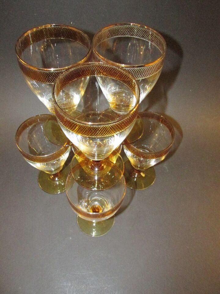 Glas, vinglas, Ukendt Producent.