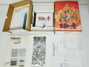 NEC PC-9801 PC98 The Legend of Heroes IV CD-Rom Big Box CIB Japan 0329A22