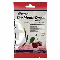 3 Pack Hager Pharma Dry Mouth Drops Xylitol Cherry Sugarless Drops 2 Oz Each on Sale