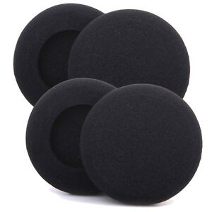 4 x 80mm Replacement HeadPhone Headset EarPhone Soft Foam Sponge Ear Pads Cover