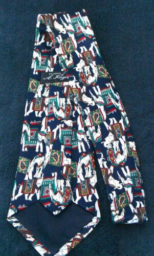 Elephant Indian Animal Novelty Men/'s Necktie Neck Tie Sleeved NEW!