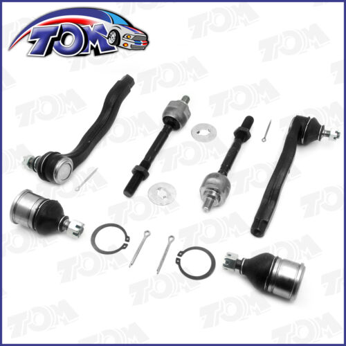 New 2 Lower Ball Joint 4 Tie Rod Ends Inner/&outer 96-00 Honda Civic Acura EL