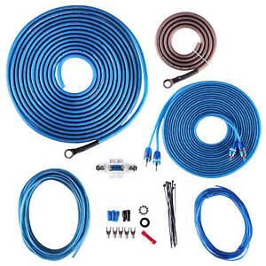 NEW-SKAR-AUDIO-8-GAUGE-600-WATT-CCA-AMPLIFIER-WIRING-KIT-W-RCA-SKAR8MANL-CCA