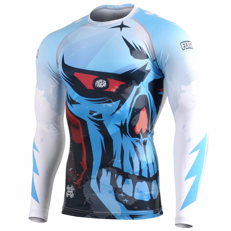 FIXGEAR CFL-78 Compression Base Layer Shirt Sportswear Bodybuilding Workout GYM
