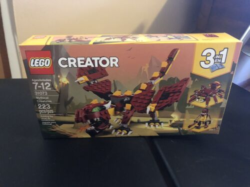 LEGO Creator 3in1 Mythical Creatures 31073 Building Kit 223pcs Toy Gift For Kids