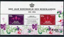 Dutch Caribbean St Eustatius & Bonaire 2016 MNH Kingdom of Netherlands 2v M/S