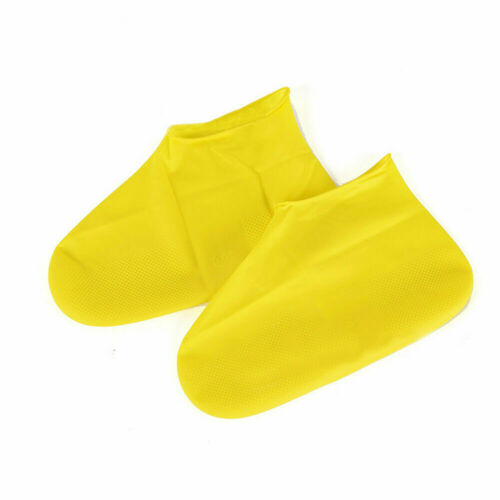 WATERPROOF SHOE COVER Protective Water PVC Latex Foot Shoes Boot Overshoe 1 Pair