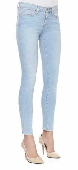 Frame Denim Le Skinny De Jeanne Jean - Redchurch Street Wash Size 27   4