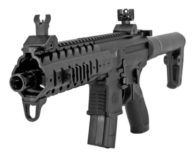 Sig Sauer MPX .177 Cal Co2 Powered 30 Round Air Rifle Pellet Gun - Refurbished