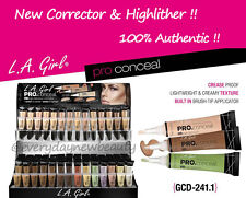 ( Pick 3 PC ) LA L.A. Girl HD. Pro Concealer, Corrector & Highlighter
