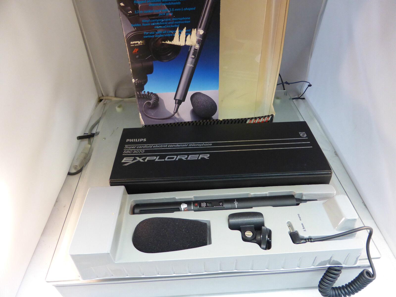Philips SBC 3070 Condenser Mikrofon old stock OVP