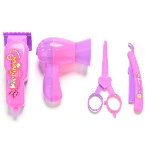 4X//Lot Salons Hair Care Barber Eyebrow Razor Hair Dryer Scissors For WU