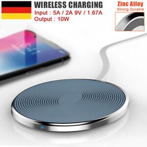 qi wireless ladestation ladeger t induktion iphone 11 pro xs max xr x 8 samsung ebay. Black Bedroom Furniture Sets. Home Design Ideas