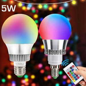 E14 E27 3W 5W 10W RGB Licht LED Glühbirne LED Einbau Deckenleuchte Panel Lampe