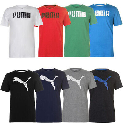 PUMA Herren Big Cat und No1 Logo QT T Shirt Gr. S M L XL 2XL