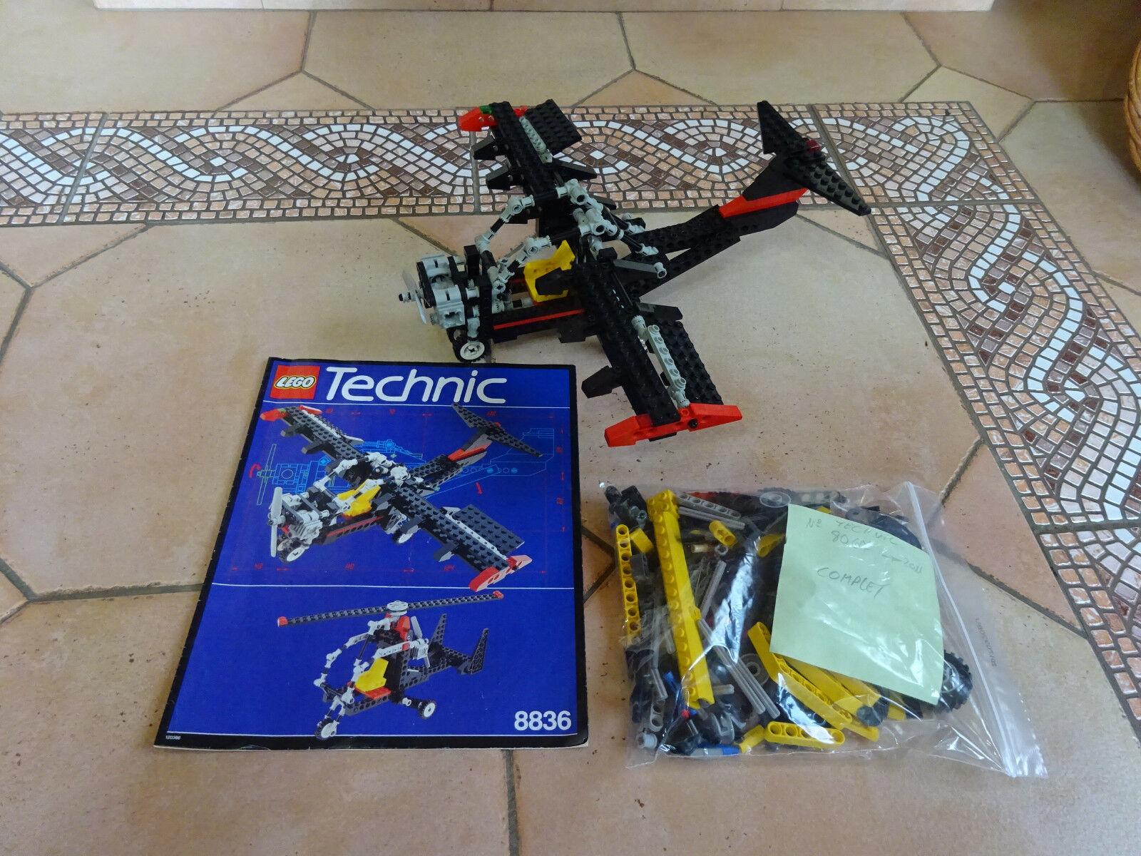 LOT Lego-City-4209 avion COMPLET A 100 % 8067 COMPLET