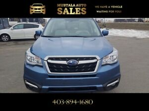 2018 Subaru Forester Touring 3 year Warranty and roadside assist