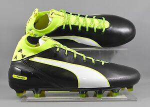 Puma (103748-01) Evotouch Pro AG adults football boots - Black/Yellow