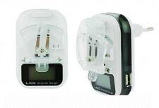 Carica Batteria Universale Lcd Uscita Usb Smartphone Cellulare Fotocamere hsb