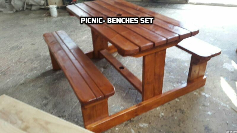 Surprising Benches Chairs And Table Set For All Use Visit Www Vmbenches Co Za Brackenfell Gumtree Classifieds South Africa 551946013 Creativecarmelina Interior Chair Design Creativecarmelinacom