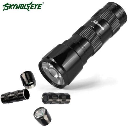 9000Lumen LED T6 Flashlight Lamp Torch LED Light With Clip Pen light AAA HOT