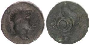 Kontorniat-54-68-N-Chr-Antique-Romain-Empire-Nero