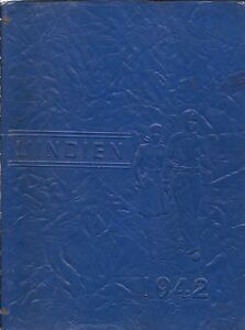 High-School-Yearbook-Indiana-Pennsylvania-PA-L-039-Indien-1942