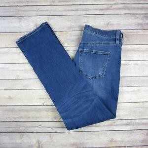 J-CREW-Women-039-s-Slim-Boyfriend-Jeans-SIZE-25-Medium-Wash