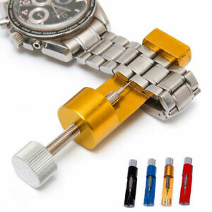 Metal-Adjustable-Watch-Band-Strap-Bracelet-Link-Pin-Remover-Repair-Tool-Kit-Set