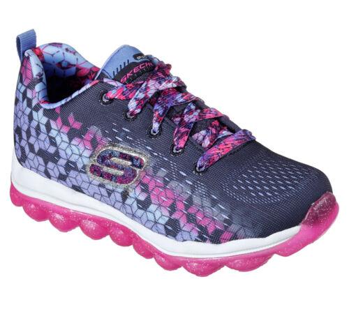 NEW SKECHERS Girls Sneakers Memory Foam insole SKECH-AIR FADE N/'FLY Blue