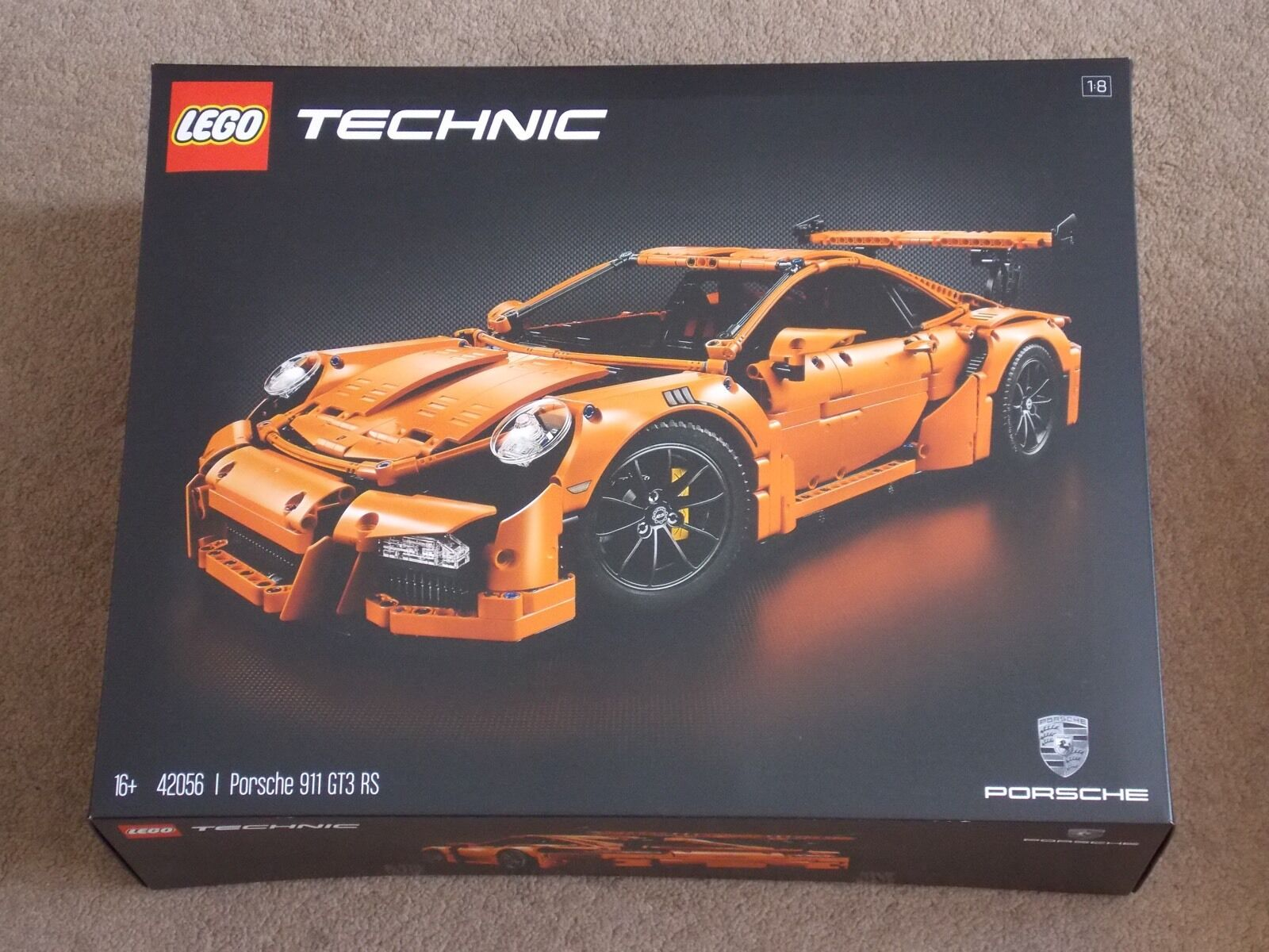 LEGO - TECHNIC ( SET 42056 - PORSCHE 911 GT3 RS ) BRAND NEW