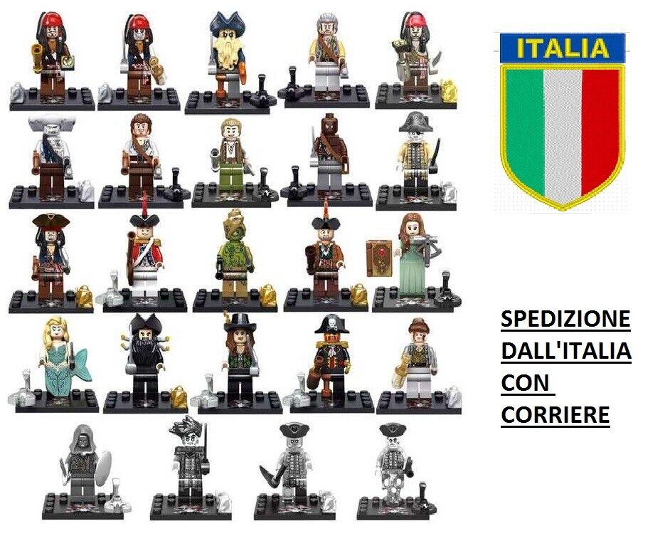 PIRATI DEI autoAIBI 24 cifraS - COSTRUZIONI COMPATIBILI - NUOVI  - ITALIA  ti renderà soddisfatto